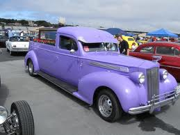 Hearse purple