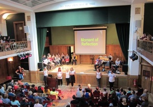 Sunday Assembly of atheists Conway Hall London