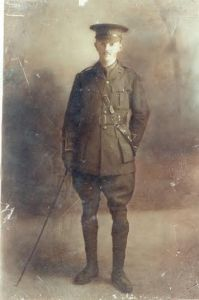 Great uncle Peter Quinn, my grandmother's brother who was a doctor serving with the British in WW1 but was killed whilst home on leave in 1915 in a motor accident whilst been driven to Lisdoonvarna.