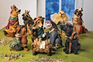 nativity dog