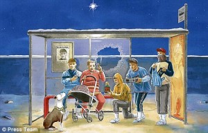 Nativity real and modern