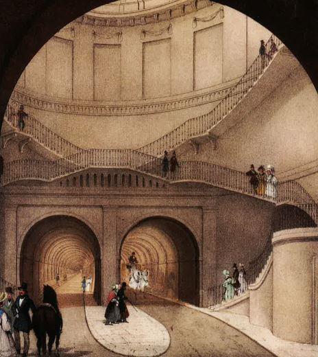 Brunel grand entrance