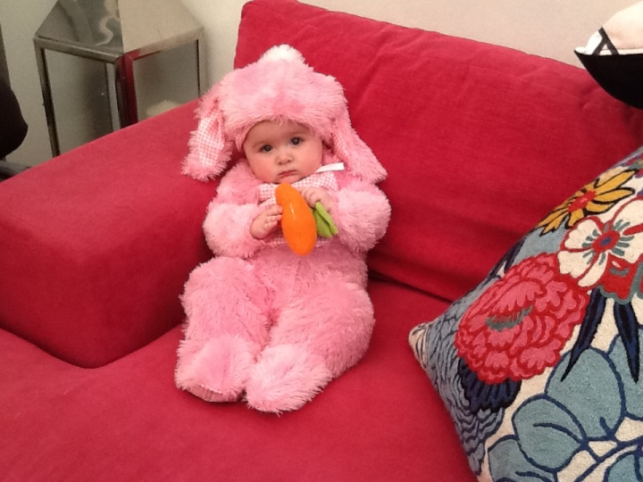Grace easter bunny