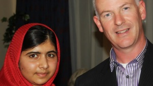 Malala and Eamonn
