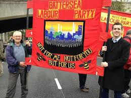 Battersea Banner with Tony