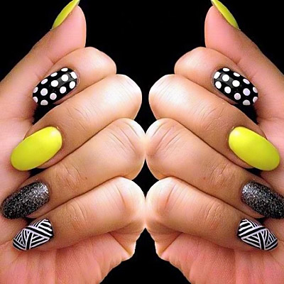 nail Mix-match-nails-art