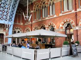 Booking Hall bar exterior