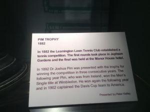 Tennis Pim Trophy