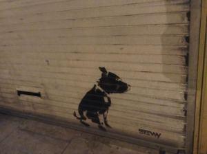 Doggy a la Banksyl
