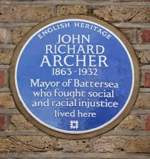 john archer plaque