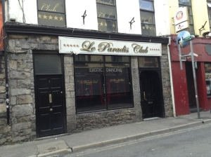 Le Paradis Club formerlyTaylor's Bar Galway