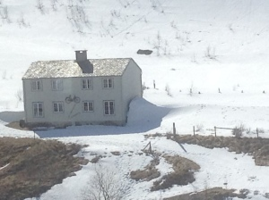 House with a bike ner Myrdal station