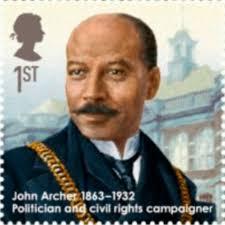 John Archer stamp