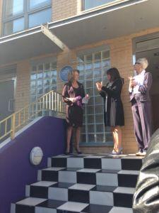 MHilda Mayoral applause