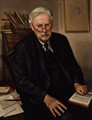 Albert Mansbridge portrait is in  the National Portrait Gallery and was painted by his  John