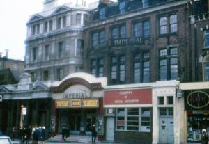 The Imperial Cinema formerly Munts Hall and laterly The Ruby before demolition for the ugly Barclays Bank branch