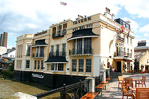 The Trafalgar venue for a Naming