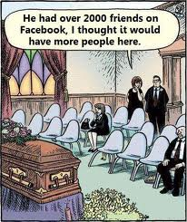 fun facebook funeral