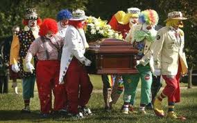 fun funeral clowns