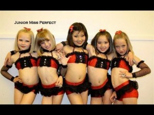 girls Miss perfect