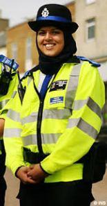 hijab policewoman