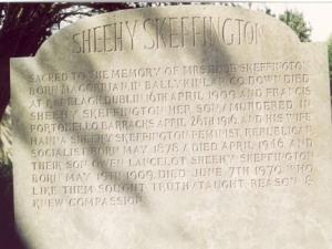 Hanna and Frank's gravestone