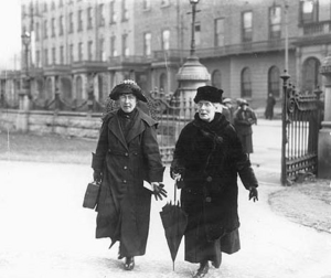 Hanna and Margaret Pearse mother of Padraic Pearse who was executed by the British