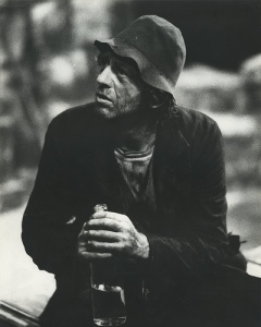 Mick in wood of the Whispering in 1983