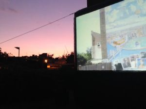 Pop up cinema