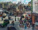 Battersea Rise Crossroads from my window by leonora Green