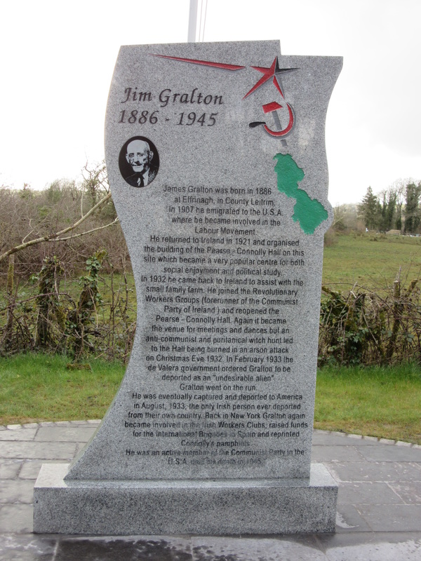 Jimmy Gralton memorial