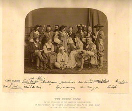 NPG x18489; The Green Room by London Stereoscopic & Photographic Company