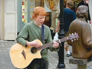 Ed Sheeran in Galway