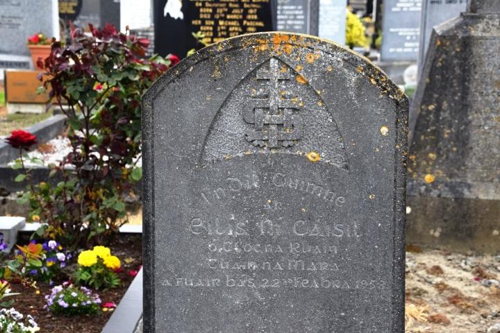 Alice Cashel gravestone