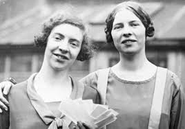 Ida and Louise Cook
