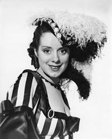 Elsa Lanchester daughter of Biddy
