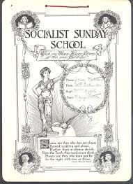 Socialist sunday school