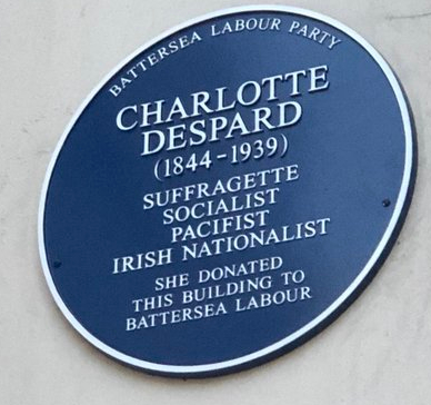 charlotte plaque