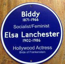 This is an ersatz plaque