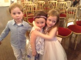 Ava and friends at Ottos Naming