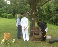 A memorial service in Streatham