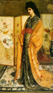 Christina was model for La Princessa by Whistler