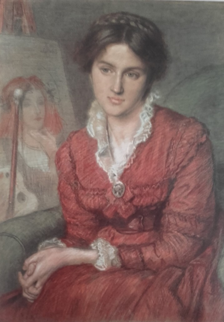 Marie -spartali.painted by Maddox Brown jpg