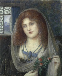 marie-spartali-stillman-portrait-of-a-woman