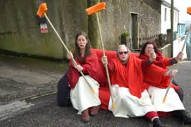 The IMELDA's on their recent road trip for the Repeal campaign