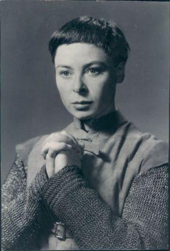 Siobhan as Joan of Arc