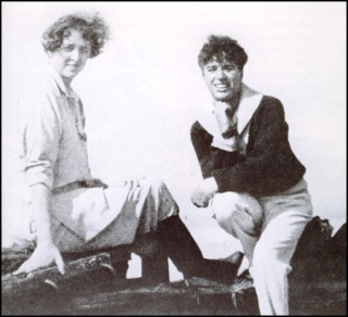 Clare and Chaplin