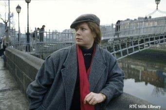 Dolores at hapenny bridge