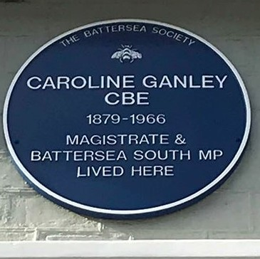 Caroline plaque