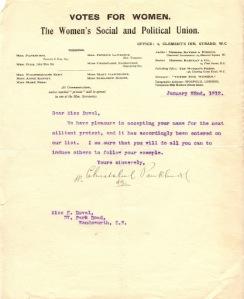 Elsie letter